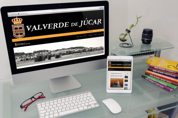 Web Ayuntamiento de Valverde de Júcar