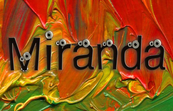 Tipo de letra Miranda, Ojo a la fuente.. ;)