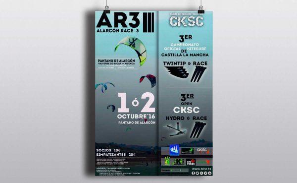 Cartel para el Alarcon Race III